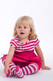 Young Girl Sittting Royalty Free Stock Photos