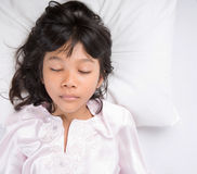 Young Girl Sleeping III Royalty Free Stock Photo