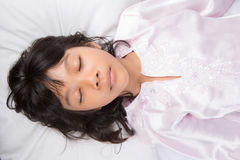 Young Girl Sleeping IV Stock Images