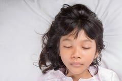 Young Girl Sleeping VI Royalty Free Stock Photos