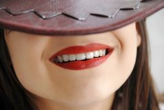Young girl smile Royalty Free Stock Photography