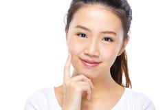 Young girl smile Stock Photo