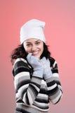 Young girl smiling Stock Photos