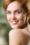 Young girl, smiling Royalty Free Stock Photo