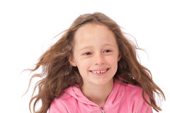 Young girl smiling Stock Image
