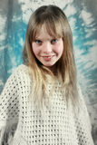 young girl smiling at the camera royalty free stock photography
