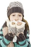 Young Girl Sneezing Royalty Free Stock Photo