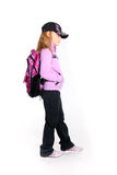 Young girl in sport outfit Royalty Free Stock Photos