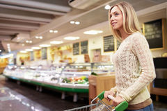 Woman in the store Stock Photo