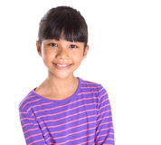 Young Girl In Striped Shirt I Stock Photos
