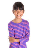 Young Girl In Striped Shirt II Royalty Free Stock Photo