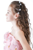 Young girl at studio Royalty Free Stock Images