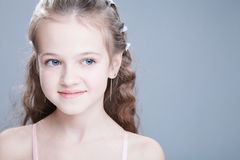 Young girl at studio Stock Image