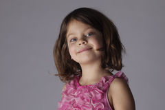 Young Girl Studio Portrait Royalty Free Stock Photos