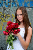 Young girl . Royalty Free Stock Photography