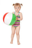 Young girl in swimsuits Royalty Free Stock Photo