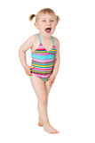 Young girl in swimsuits Royalty Free Stock Image