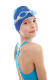 Young Girl in swimwear Stock Photography