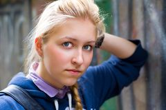 A young girl - teenage Royalty Free Stock Image