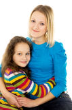 Young girl with a teenager Royalty Free Stock Photos