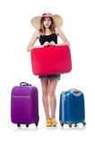 Young girl travelling Royalty Free Stock Photo