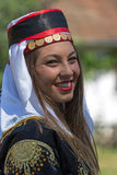 Young girl from Turkey in traditional costume Royalty Free Stock Image