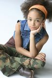 Young Girl In Urban Outfit Stock Image