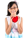 Young Girl Valentine III Royalty Free Stock Images