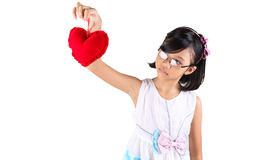 Young Girl Valentine IV Royalty Free Stock Photos