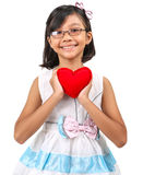 Young Girl Valentine IX Stock Photography