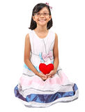 Young Girl Valentine VI Stock Photos