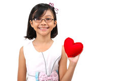 Young Girl Valentine VII Royalty Free Stock Photo