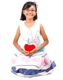 Young Girl Valentine VIII Royalty Free Stock Images