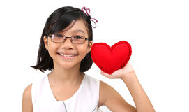 Young Girl Valentine XI Royalty Free Stock Photo