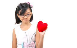 Young Girl Valentine XII Royalty Free Stock Image