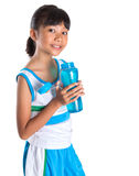 Young Girl With Water Bottle III Stock Image