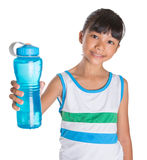 Young Girl With Water Bottle IV Royalty Free Stock Image