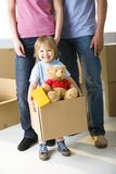 Young Girl With Toys Royalty Free Stock Photography
