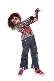 Young girl Zombie in Halloween Stock Photo