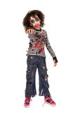Young girl Zombie in Halloween Stock Photos