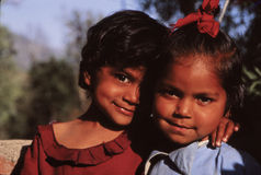 Young girls of Nepal Stock Photography