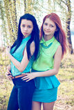 Young girls Royalty Free Stock Photos
