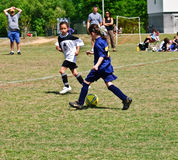 Young Girls Soccer Stock Image