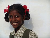 Young girly in South India Royalty Free Stock Photo