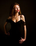 Young glamour woman Royalty Free Stock Image
