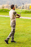Young golf player Royalty Free Stock Image