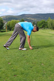 Young golfer Stock Photography