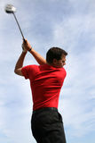 Young Golfer with Driver Stock Photos