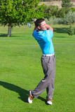 Young golfer Royalty Free Stock Photography