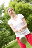 Young golfer Royalty Free Stock Images